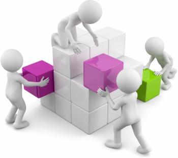 Diensten door en met samenwerking