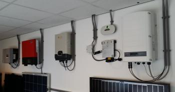 Omvormers voor zonnepanelen bij Platen Duurzame Technieken