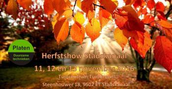 Herfstshow Stadskanaal, ook Platen Duurzame Technieken is aanwezig!