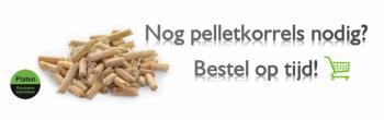 Pelletkorrels voor uw pelletkachel nodig? Bij Platen Duurzame Technieken kunt u deze laten thuisbezorgen of ophalen.