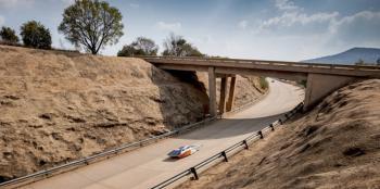 Zonneauto Nuna, voor de SASOL Solar Challenge te Zuid Afrika
