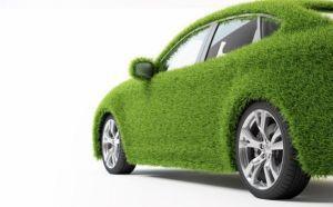Groene, duurzame auto