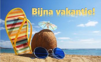Bijna zomervakantie