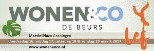 Wonen & Co beurs, MartiniPlaza Groningen. Platen Duurzame Technieken zal ook dit jaar aanwezig zijn!