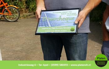 100e installatie collectief Vries door Platen Duurzame Technieken