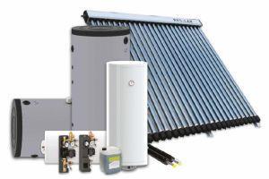 ReHeat vacuümbuissysteem zonneboiler