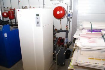 Warmtepomp geplaatst in bedrijfspand te Wormer in november 2011