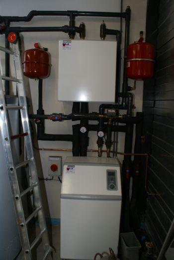 Warmtepomp geplaatst in woning en bedrijfspand te Emmen in januari 2012