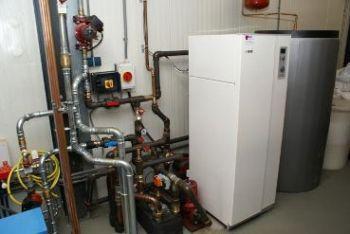 Warmtepomp geplaatst in bedrijfspand te Geldermalsen in maart 2012